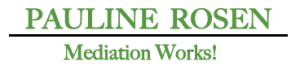 Pauline Rosen Mediation Works logo in Green large